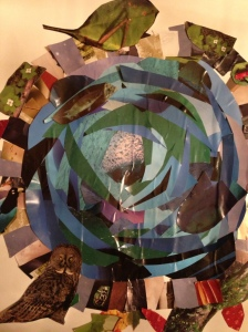 Blue Hole Collage, 2013